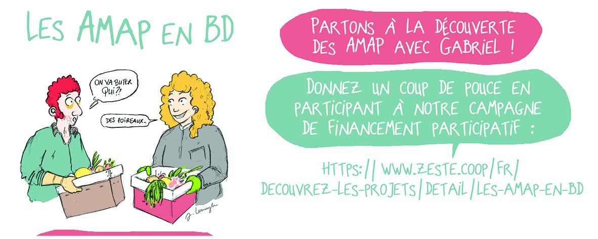 Visuel des AMAP en BD