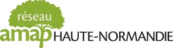 Logo du réseau régional des AMAP de Haute-Normandie